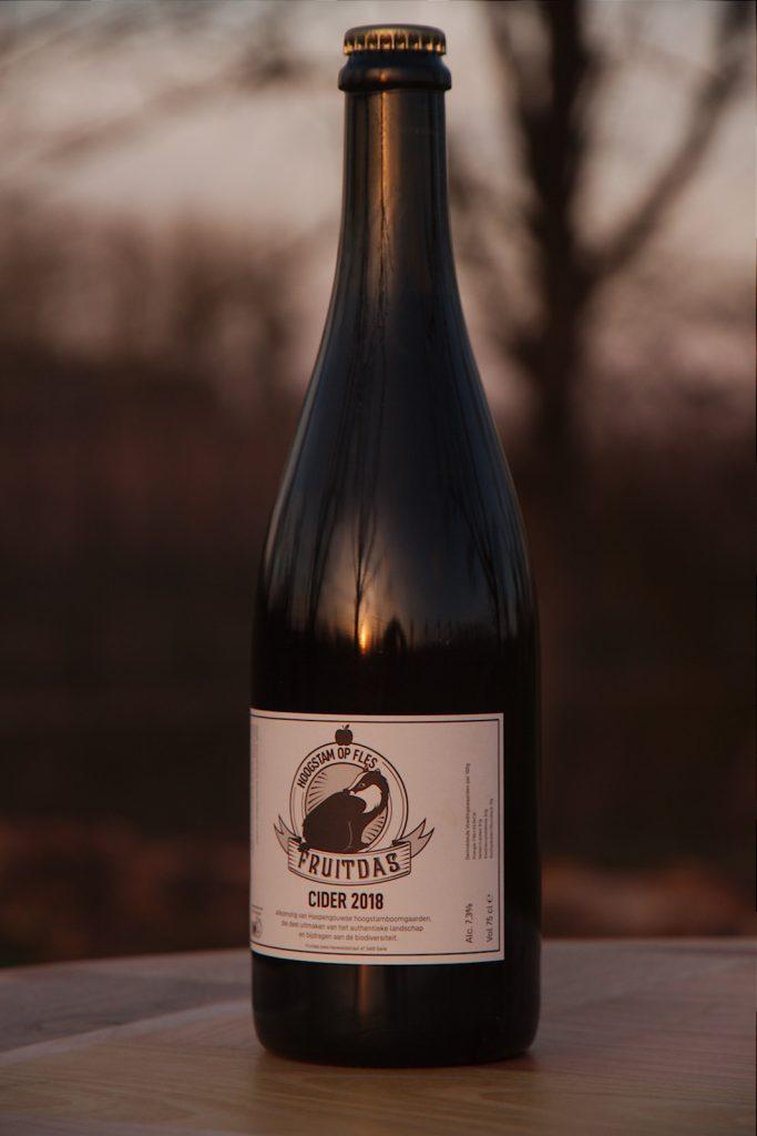 Cider gemaakt van appels afkomstig van Haspengouwse hoogstam 75cl